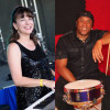 Tricia Edwards duo, jazz piano & mixed latin persussion