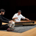 Rod Thomas Squance, marimba and Abbas Janmohamed, tabla