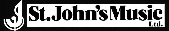 St John's logo B&W landscape